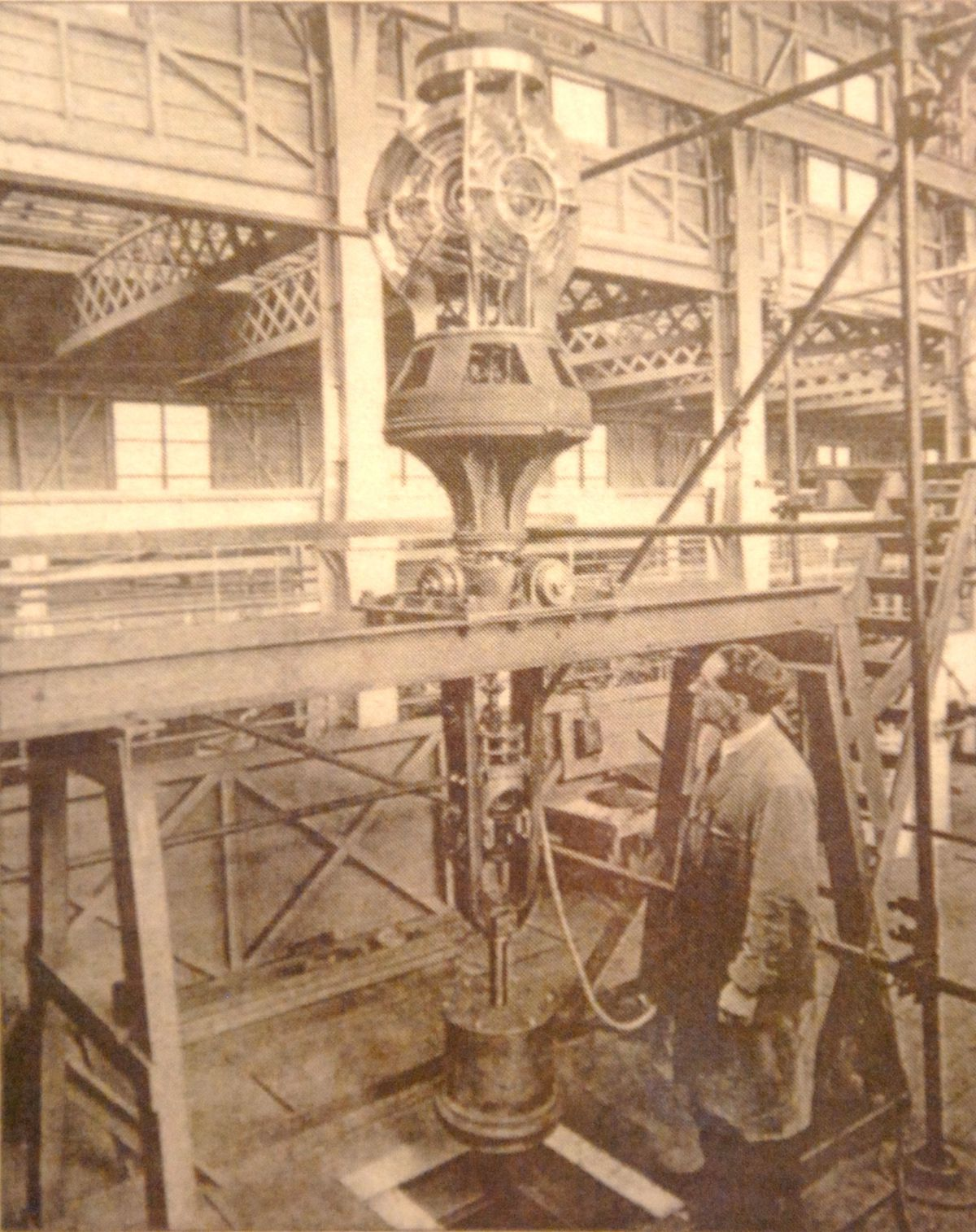 An inspection of the lighthouse workshop