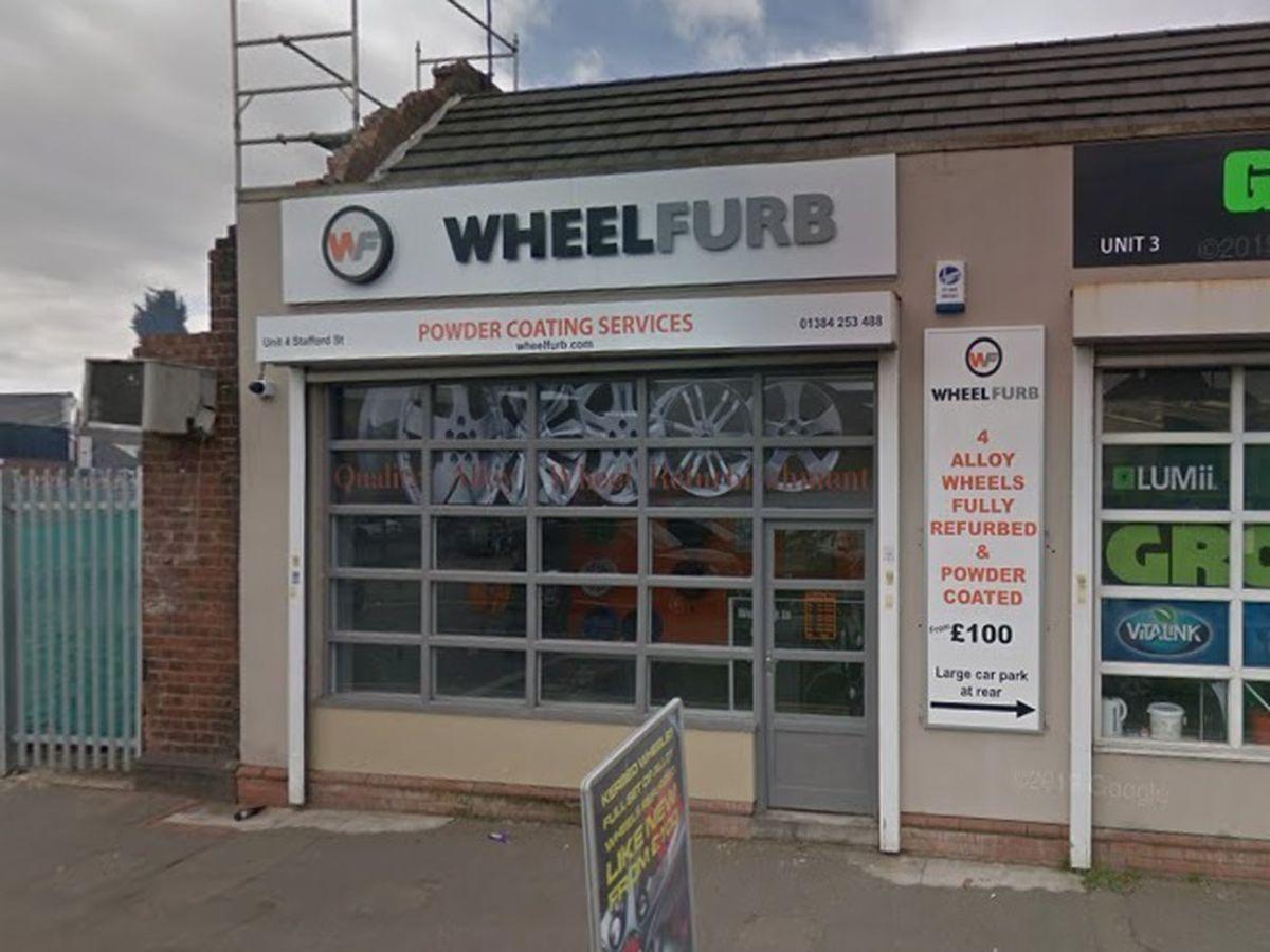 Wheel Furb Ltd in Dudley - image courtesy of Google Street View