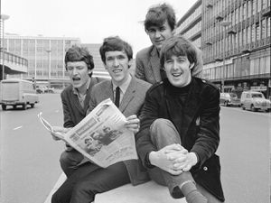 Thre Spencer Davis Group on Smallbrook Queensway