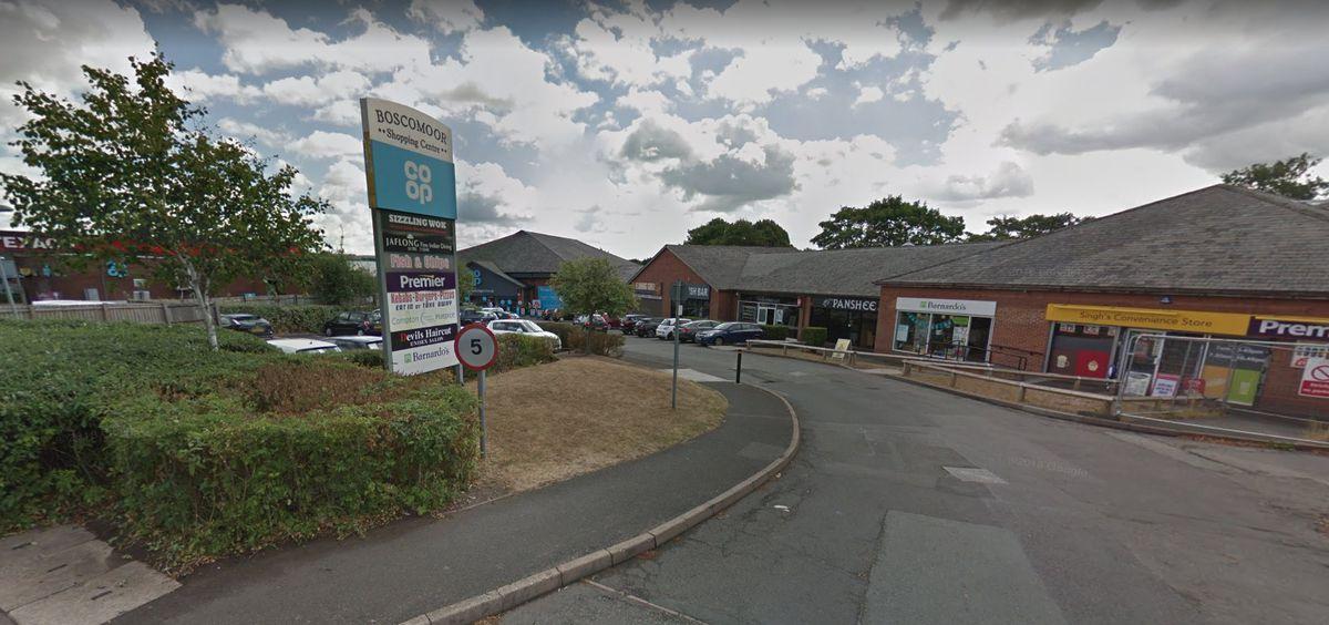 Boscomoor Shopping Centre. Photo: Google