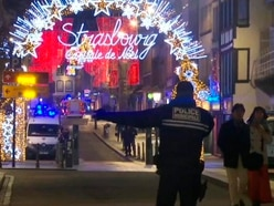 Gunman on run after two killed in Strasbourg Christmas market shooting