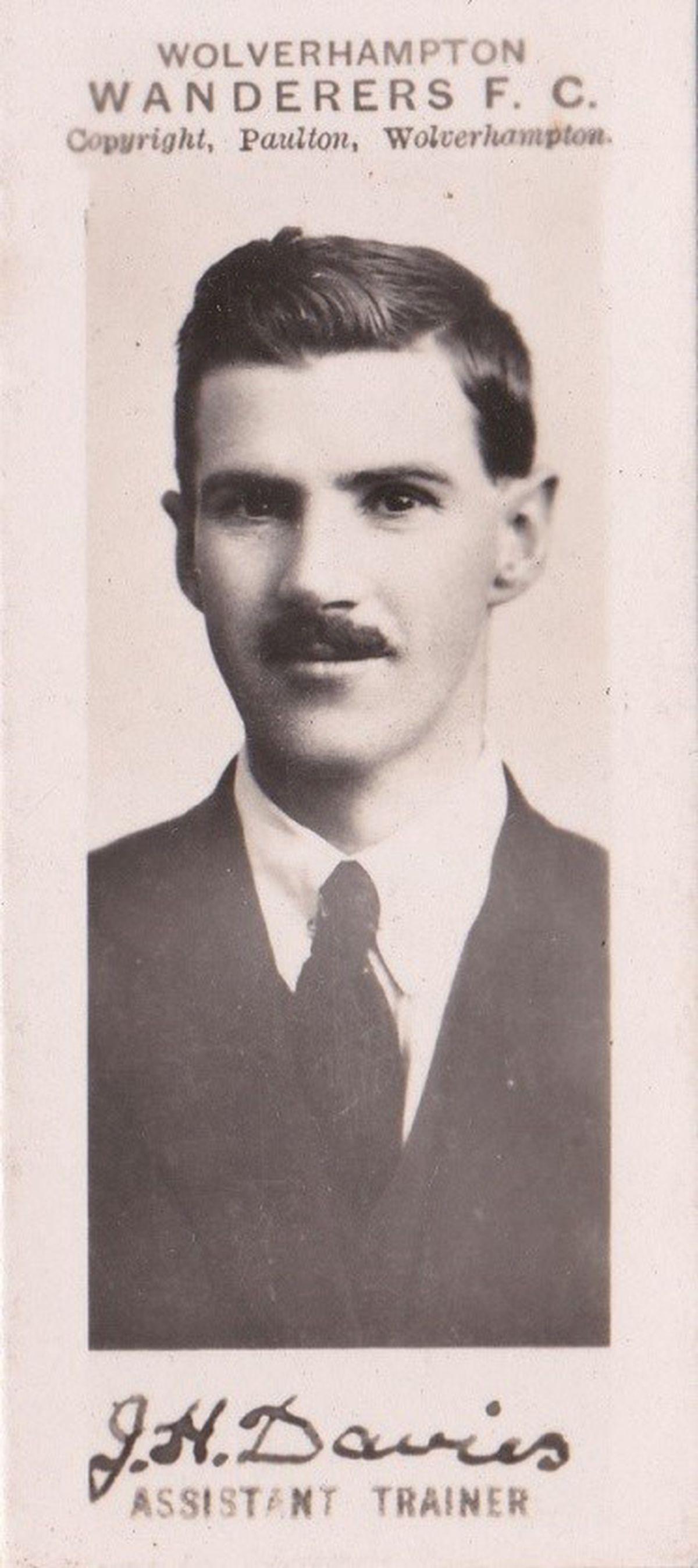 Jack Davies in 1920