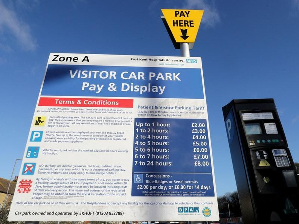 Hospital vehicle parking charges to end for thousands of Britons in April