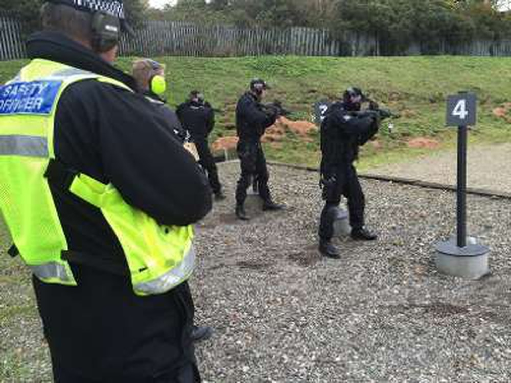 39 bullet catcher 39 to be built at police firing range to - British transport police press office ...