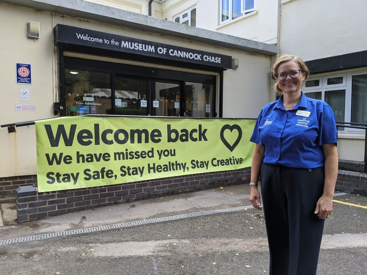 The Museum of Cannock Chase is ready to welcome visitors again
