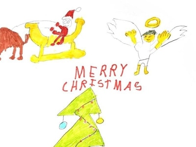 Labour leader Jeremy Corbyn reveals Christmas card design