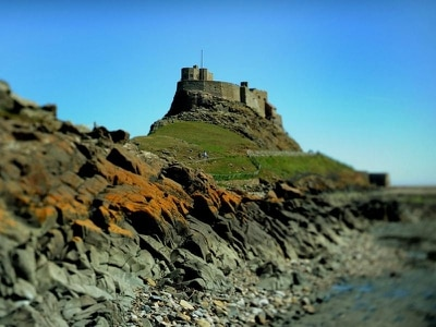 £3m restoration of Lindisfarne Castle reveals paintings hundreds of years old
