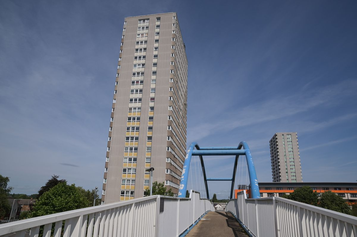 Ms Jerrare lived in a high-rise building in Heath Town, Wolverhampton