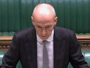 Wolverhampton South East MP Pat McFadden at the dispatch box in the Commons on October 20.