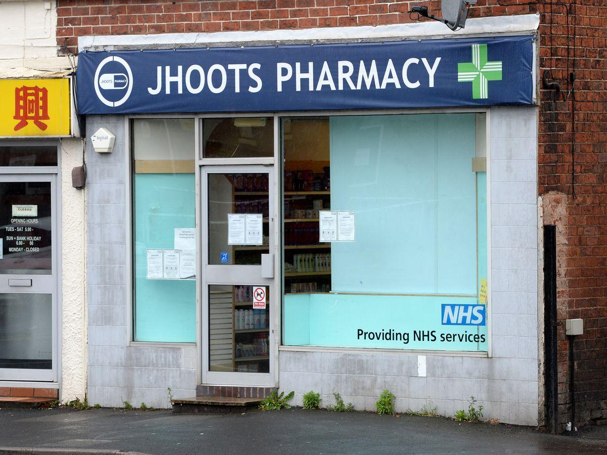 Jhoots Pharmacy in High Street, Kingswinford