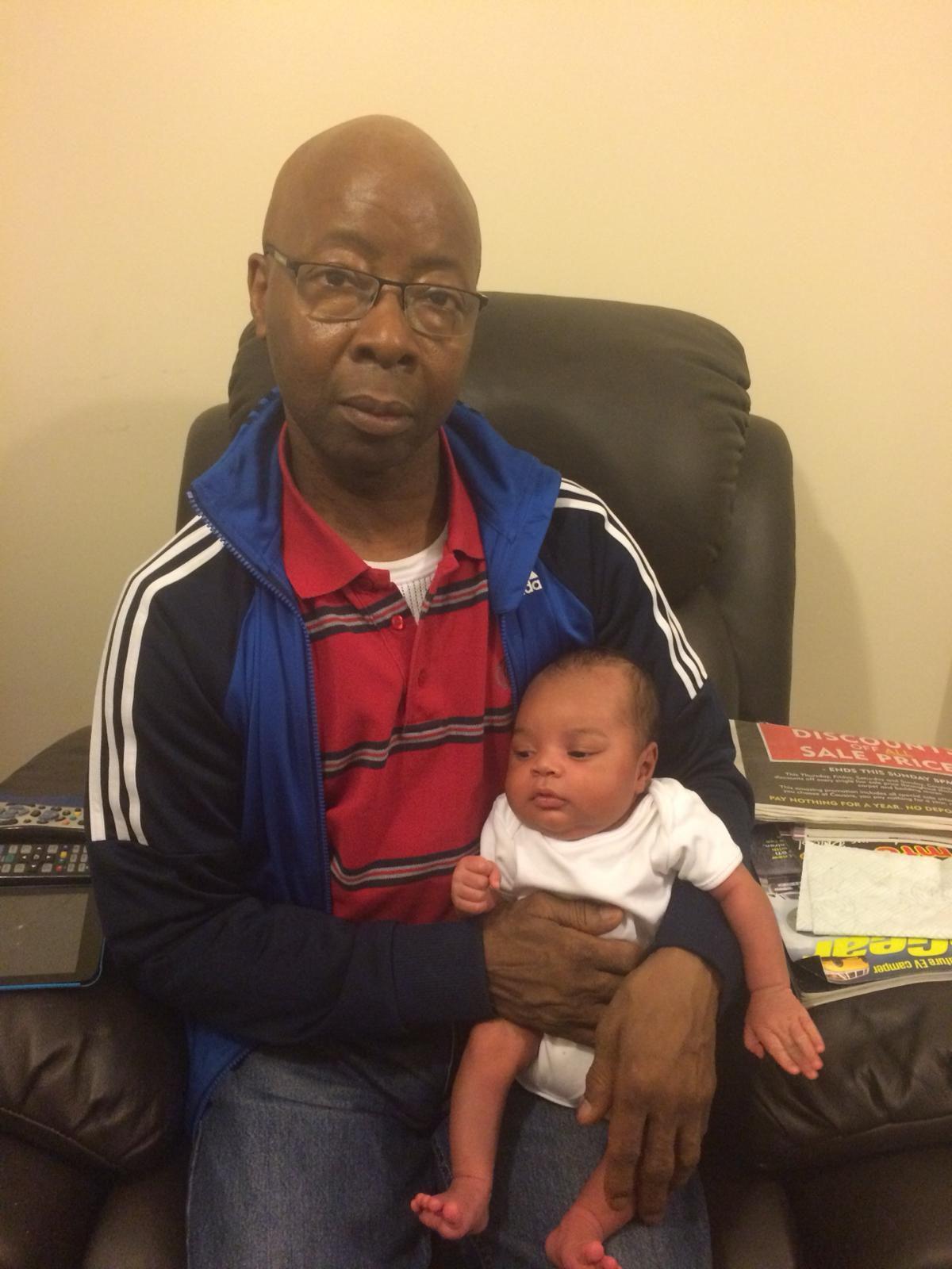 Michael Willis and baby O'Shea M