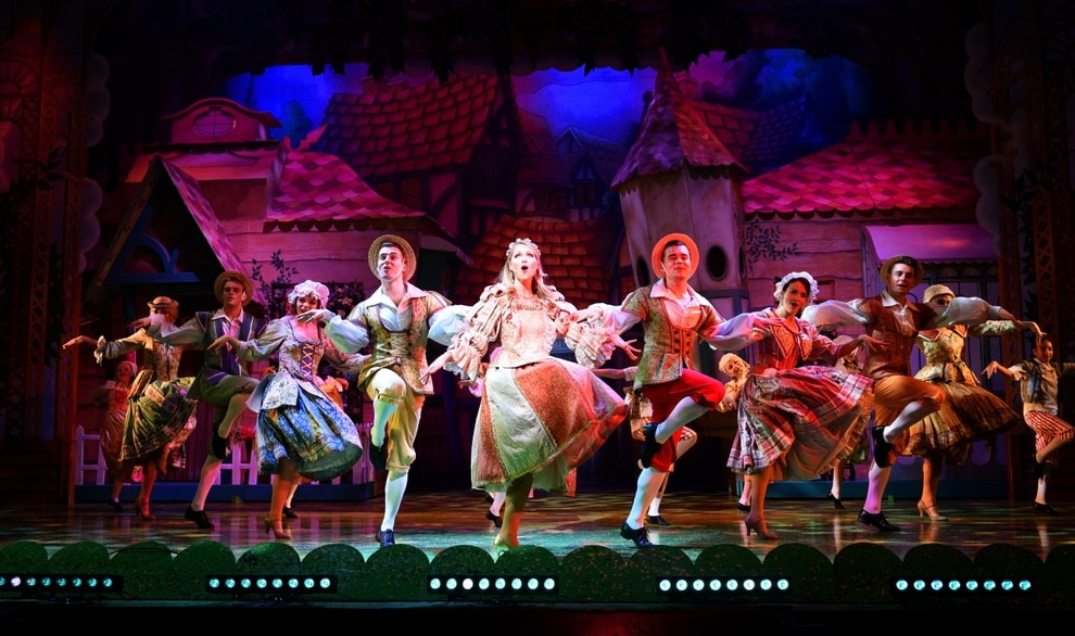 Pictured Jack And The Beanstalk Dress Rehearsal As Panto