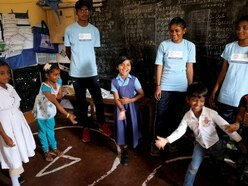 Britons help impoverished Indian children as part of safe water scheme