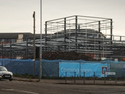 Aldi supermarket taking shape transforming Wolverhampton site