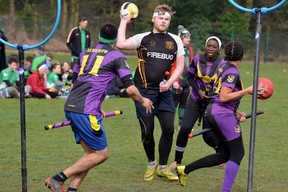 Harry Potter game brought to life in British Quidditch Cup