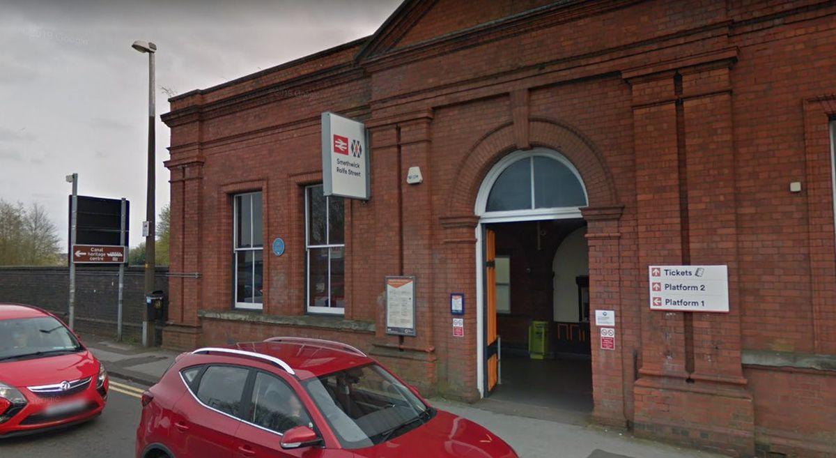 Smethwick Rolfe Street station. Photo: Google Maps