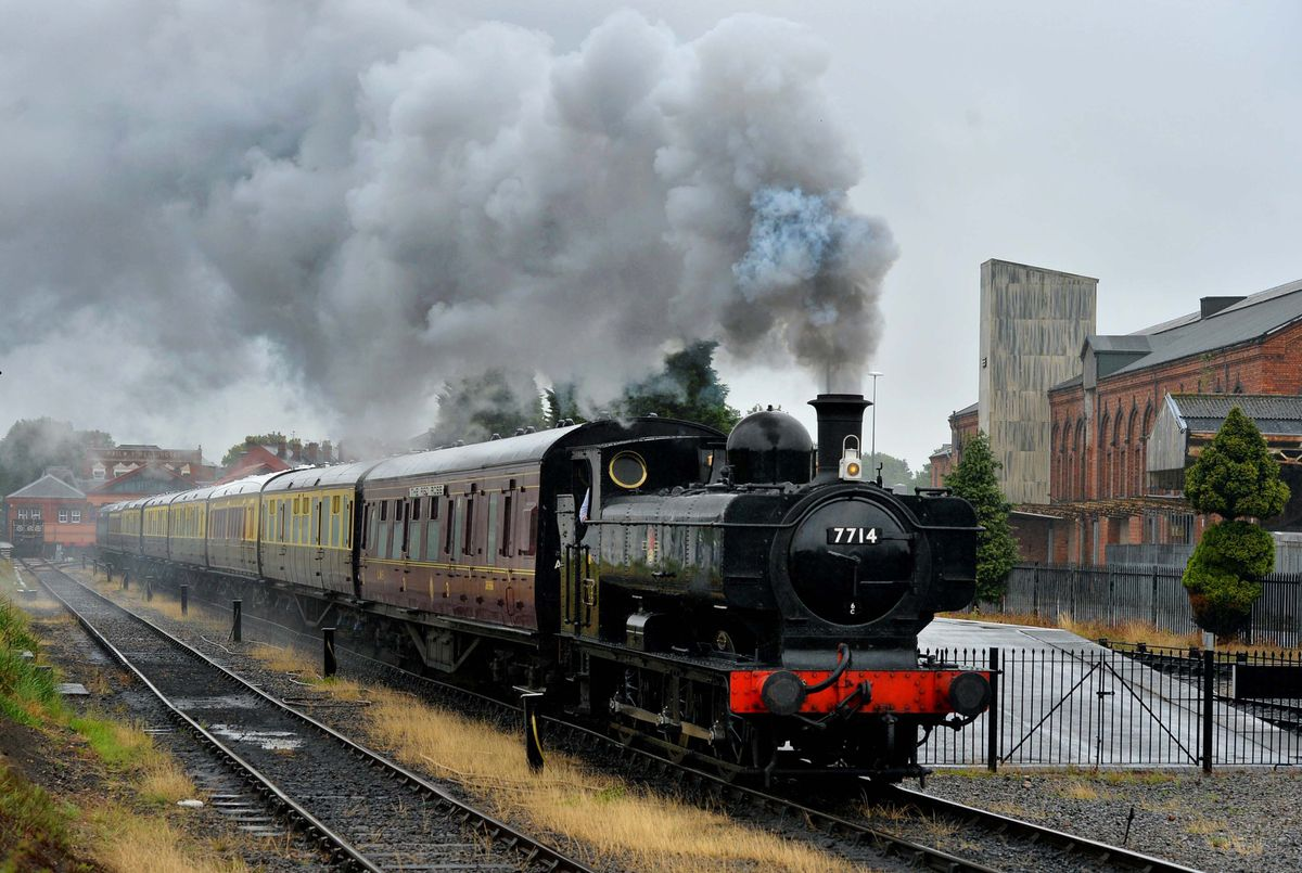 Severn Valley Railway gets ready to re-open to the public this weekend