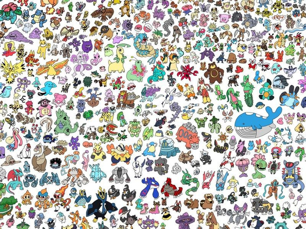this student spent six months drawing all 807 pokemon express star