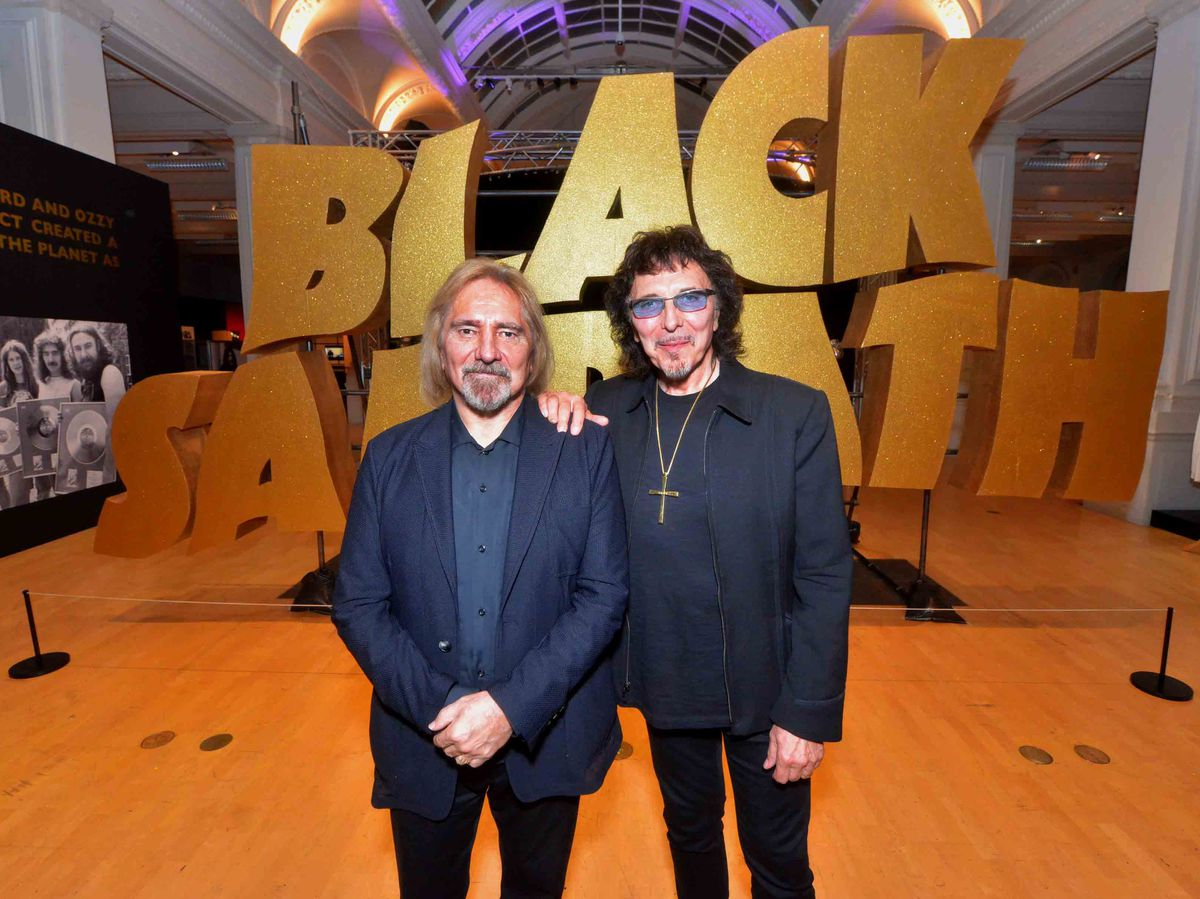 Tony Iommi and Geezer Butler launch Black Sabbath: 50 Years at Birmingham Museum and Art Gallery