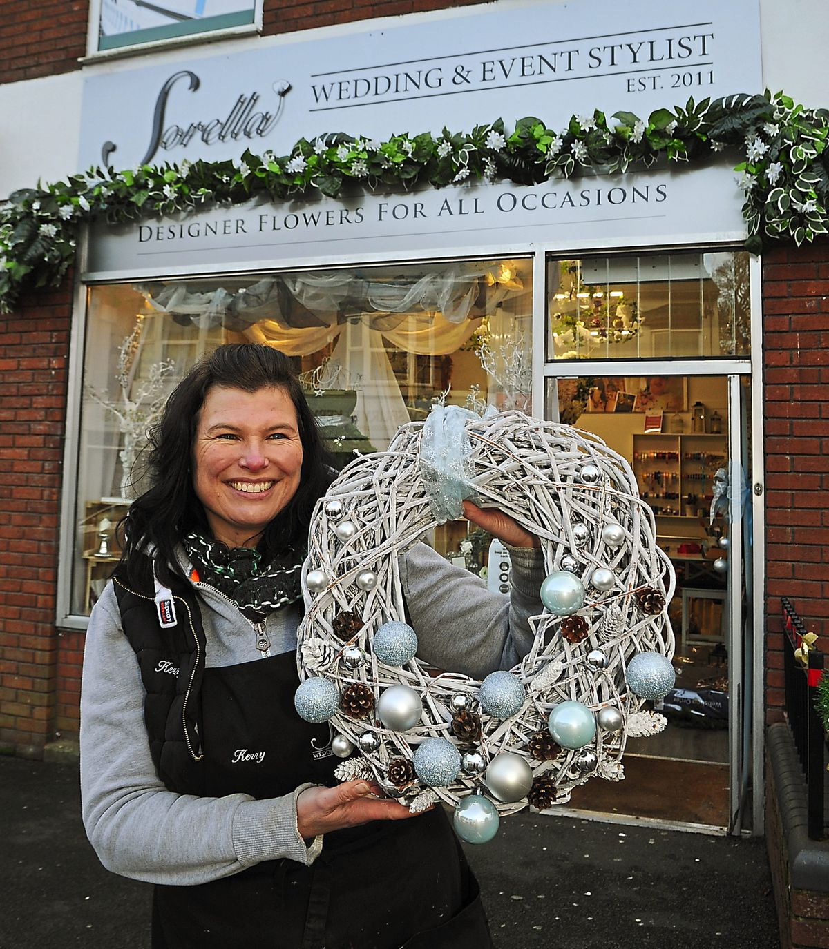 Kerry Goodyear at Sorella Florist & Event Stylist, Hednesford