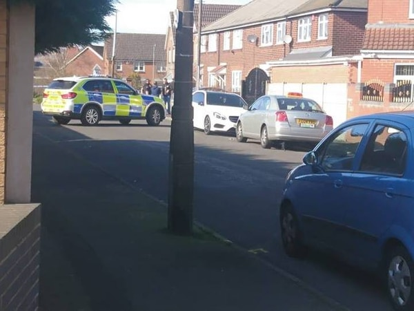 Armed police called after shots fired in Oldbury road