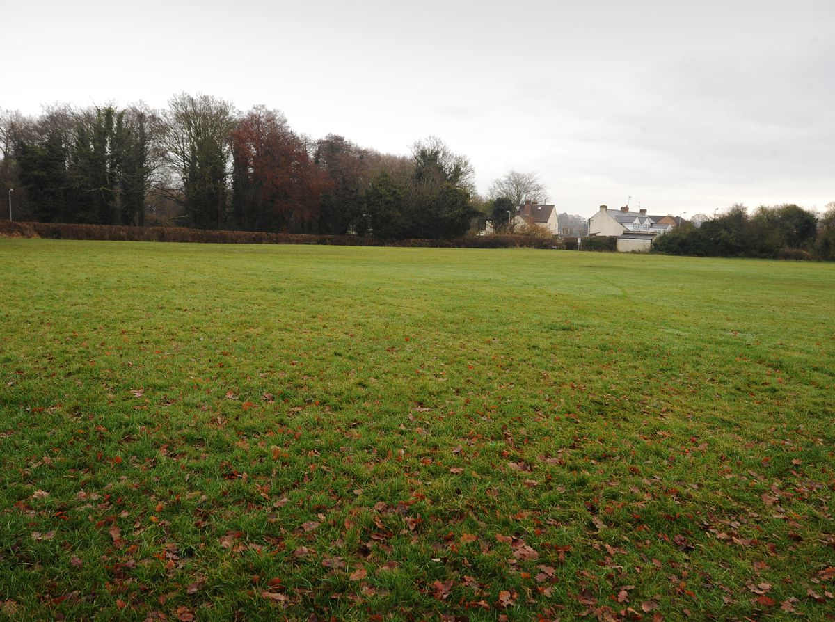 Playing fields in Perton will not be built on.
