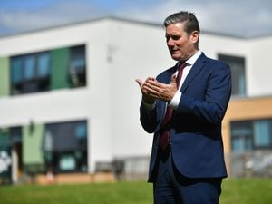 Labour Party leader Keir Starmer during a visit to Whitmore Park Primary School in Coventry. PA Photo. Picture date: Monday July 20, 2020. See PA story POLITICS Starmer. Photo credit should read: Jacob King/PA Wire