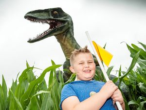 There's dinosaur fun to be had in Staffordshire