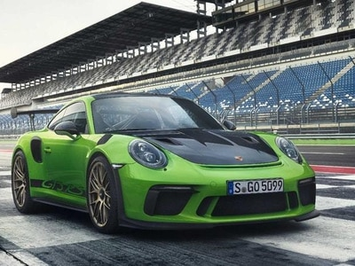 Porsche reveals updated GT3 RS model with 513bhp and screaming naturally aspirated engine