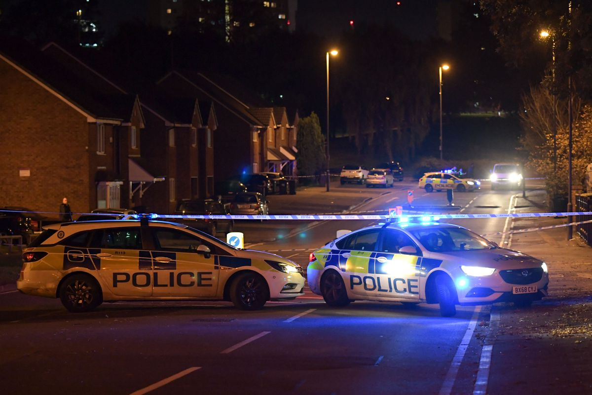 An investigation has been launched by police with Wheeler Street cordoned off in the aftermath. Photo: SnapperSK
