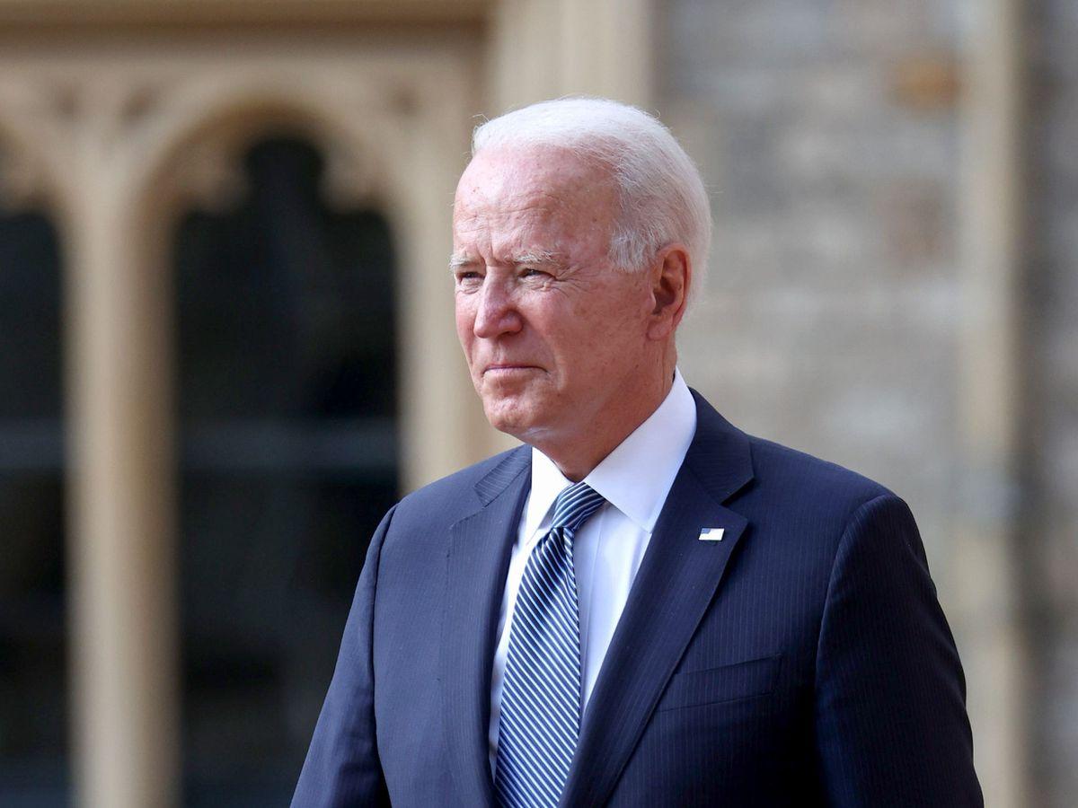The Queen meets US President Joe Biden