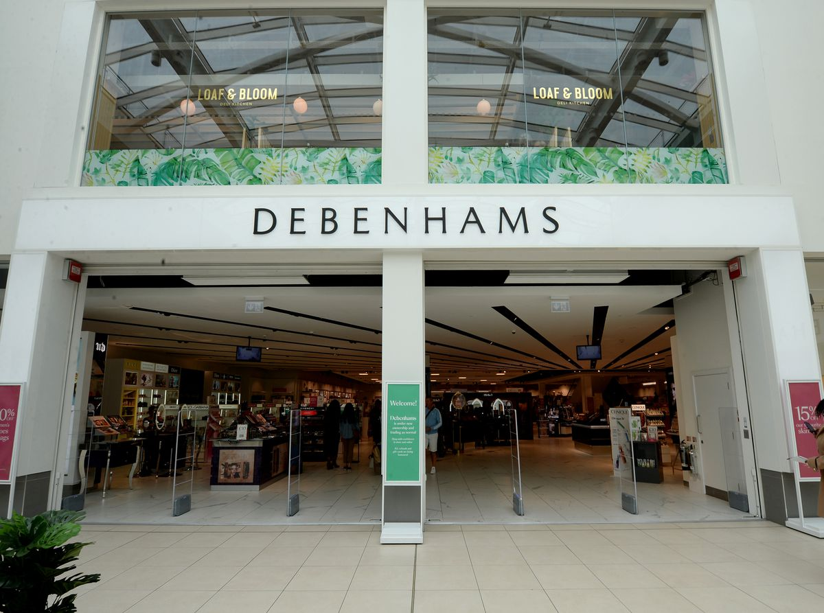 Debenhams, in the Mander Centre, is on the way out of Wolverhampton
