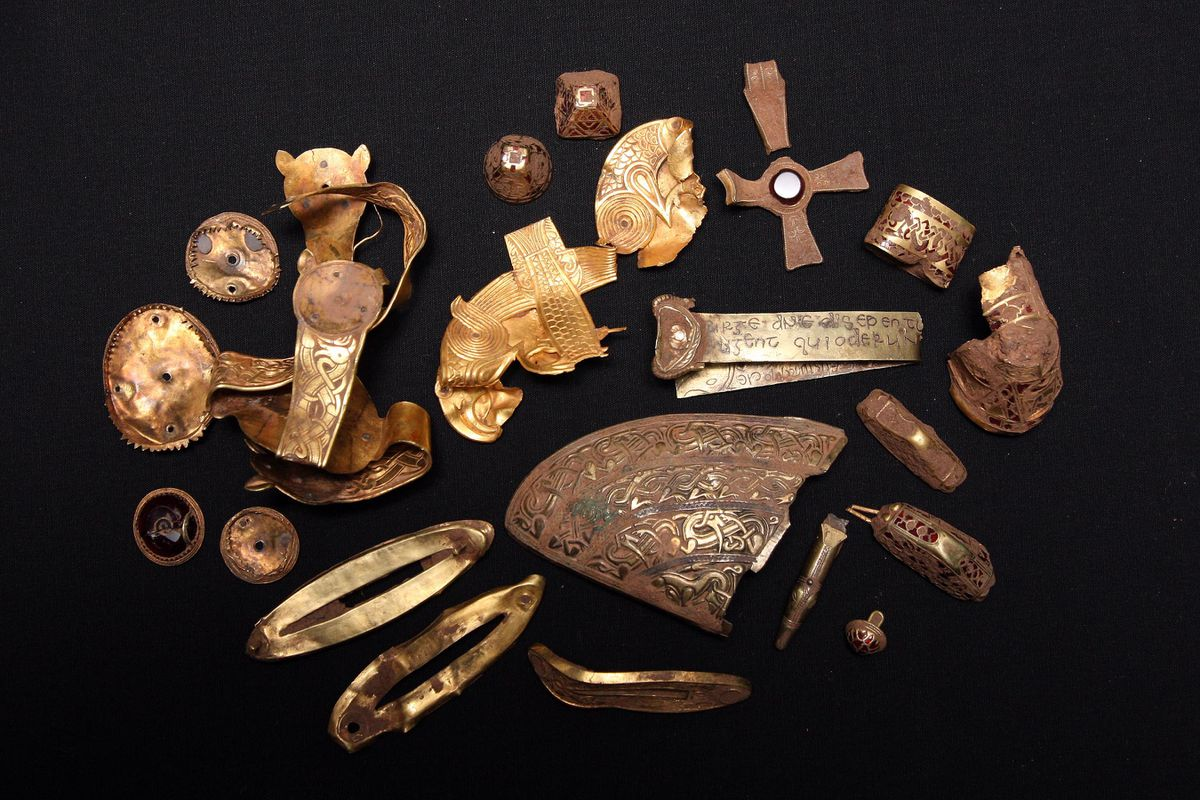 The hoard was discovered 10 years ago.