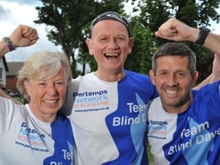 Ultra tough Blind Dave ready for gruelling marathon challenge