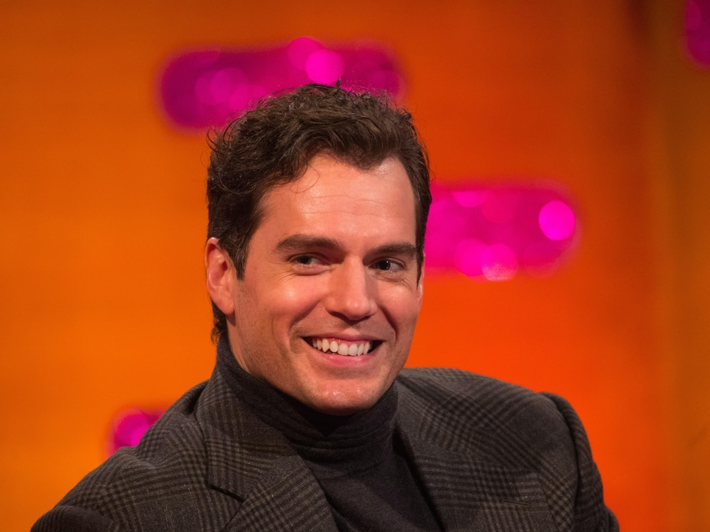 Henry Cavill shows off his computing skills by building ...