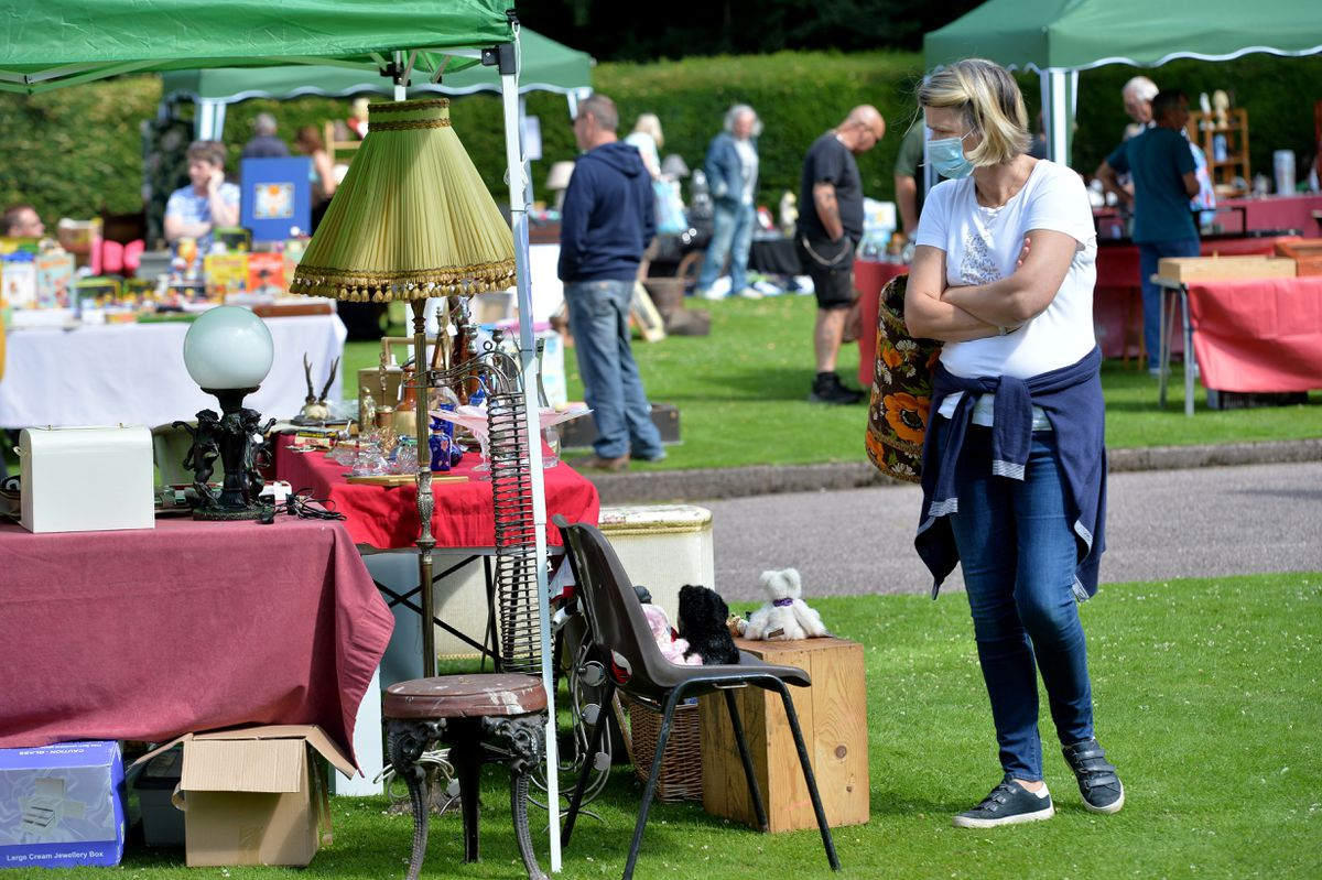 The Antique and Collectors Fair is the first public event to return to the grounds of Himley Hall
