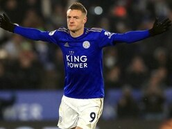 Rodgers plays down Vardy injury fears