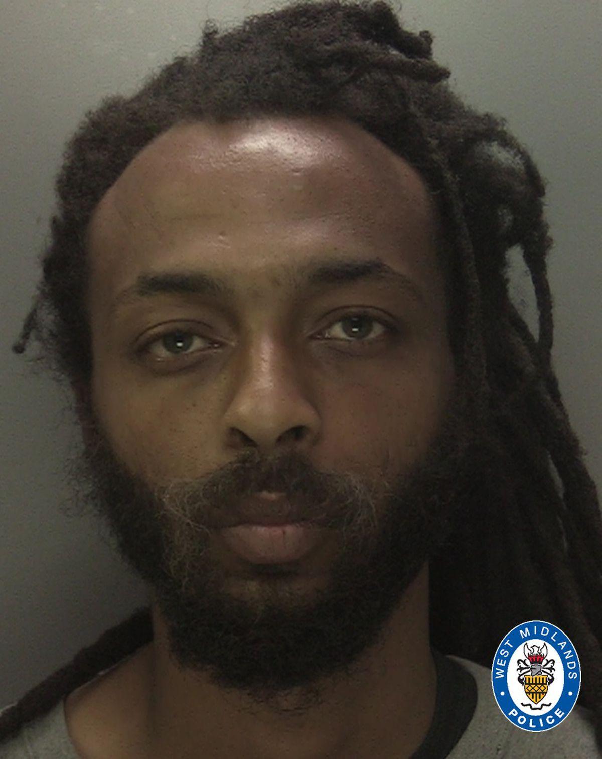 Ishmael Farquharson. Photo: West Midlands Police