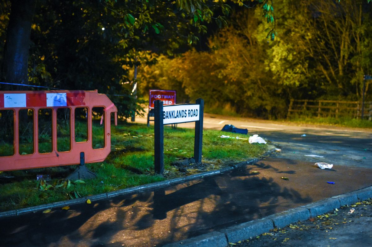 The crash happened at the junction with Banklands Road, Dudley. Photo: SnapperSK