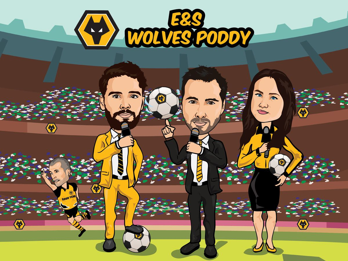 Wolves poddy with Nathan Judah, Joe Edwards and Rosie Swarbrick