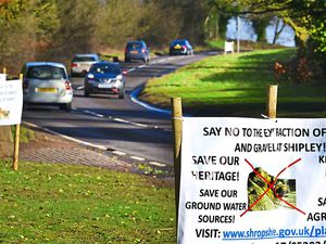 A decision will be made today on plans for a new quarry. Protestors say, if approved, it will severely impact traffic on the A454