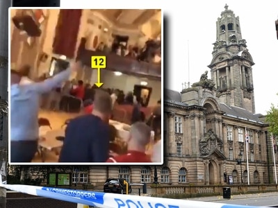 Jail for Walsall man involved in Town Hall boxing brawl