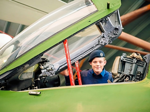 Fighter is top draw at RAF Cosford Museum