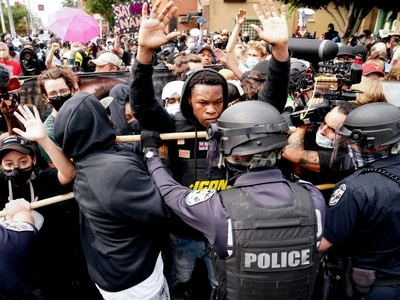 Two police officers shot in Louisville protests against Breonna Taylor death