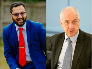 PCC David Jamieson (right) and his deputy Waheed Saleem have come under fire over the Victims Fund
