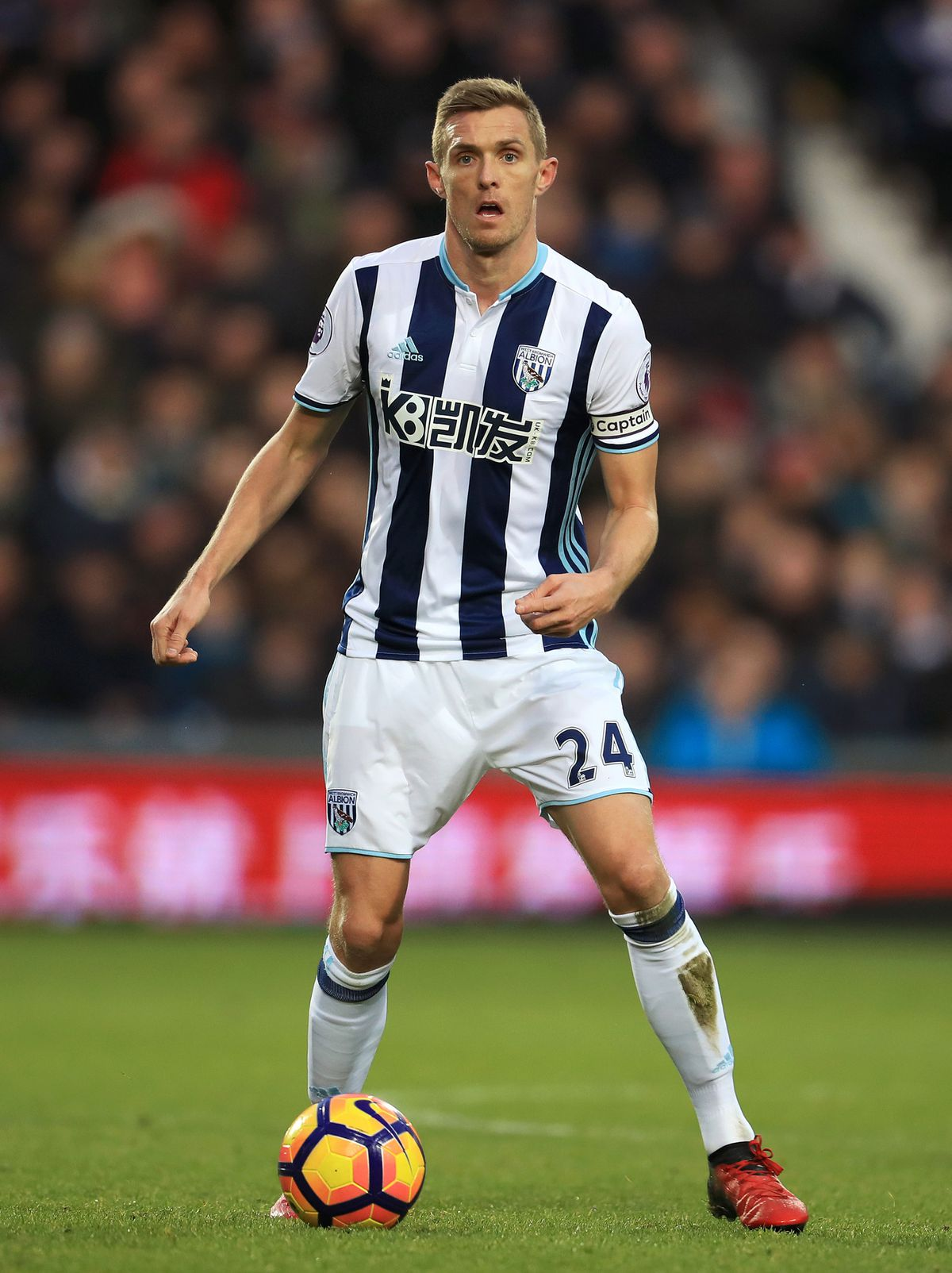 File photo dated 02-01-2017 of West Bromwich Albion's Darren Fletcher. PRESS ASSOCIATION Photo. Issue date: Wednesday April 26, 2017. West Brom captain Darren Fletcher is ready to put contract talks on hold until the summer. See PA story SOCCER West Brom. Photo credit should read Mike Egerton/PA Wire.