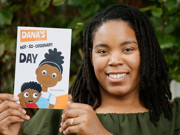Mawuena Rankine is the author of Dana's Not-So-Ordinary Day, which is a moral story that highlights the issue of homelessness