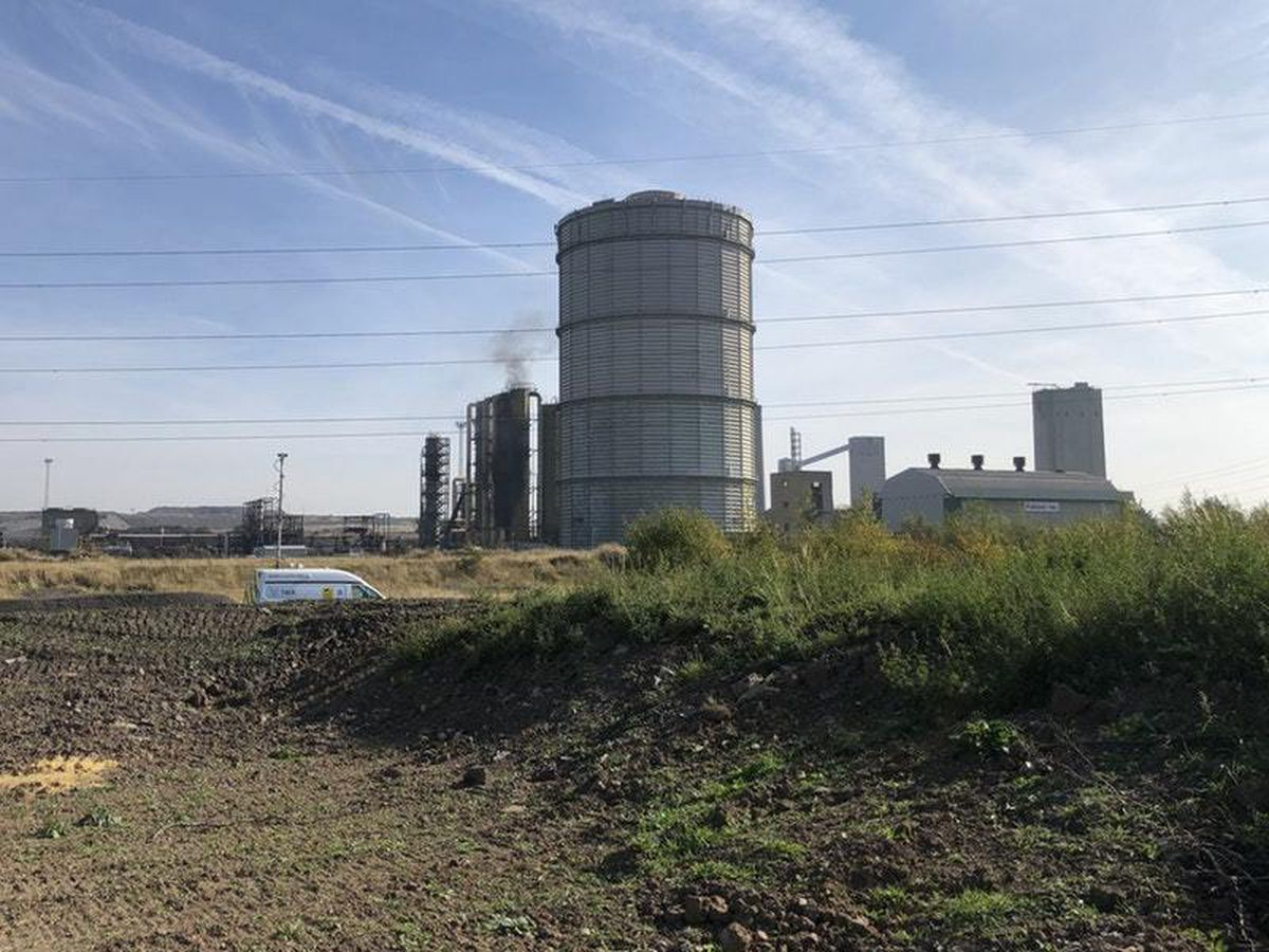 Two killed in fire at former steelworks