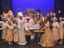 Panto boost for hospice appeal