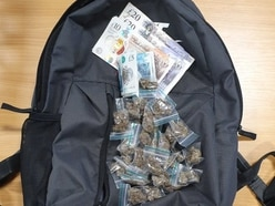 Bag full of cash and cannabis dropped in West Bromwich